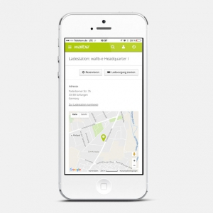 wallbe app: Charging station reservations